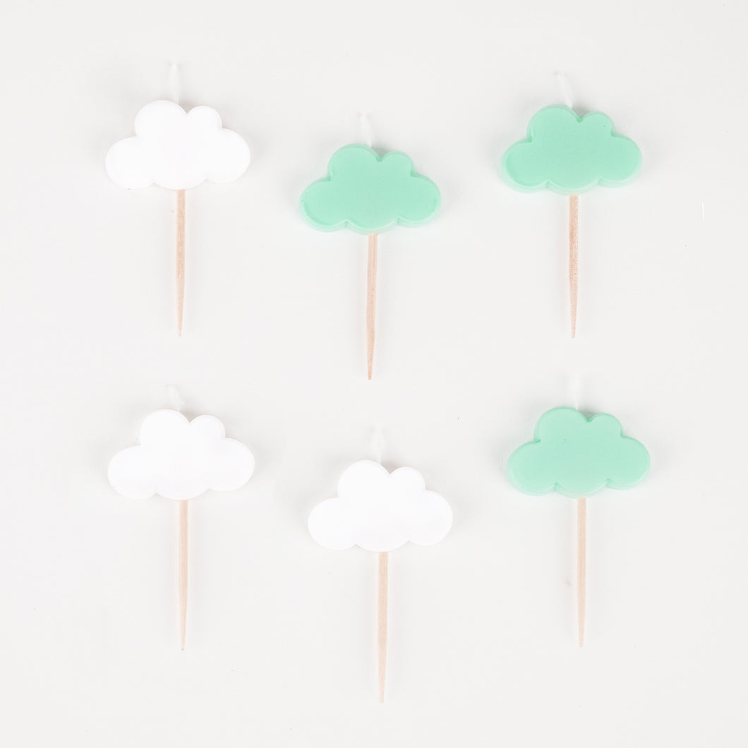 Cloud Candles, 6 pk