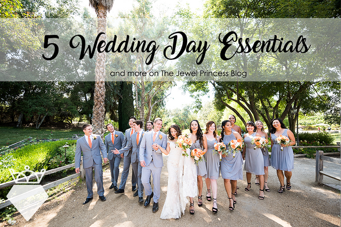 Wedding Planning | 5 Essentials You Need on Your Big Day