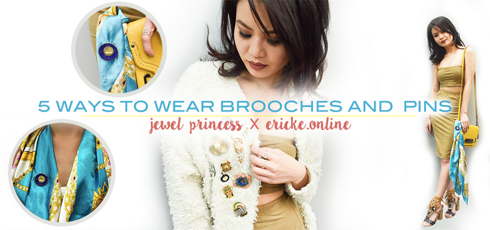 5 Ways to Wear Brooches and Pins