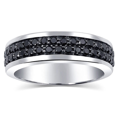 mens-jewelry-black-diamond-band