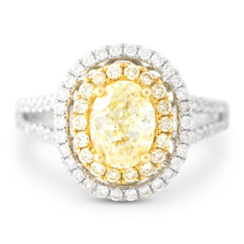 halo-engagement-rings-yellow-diamond