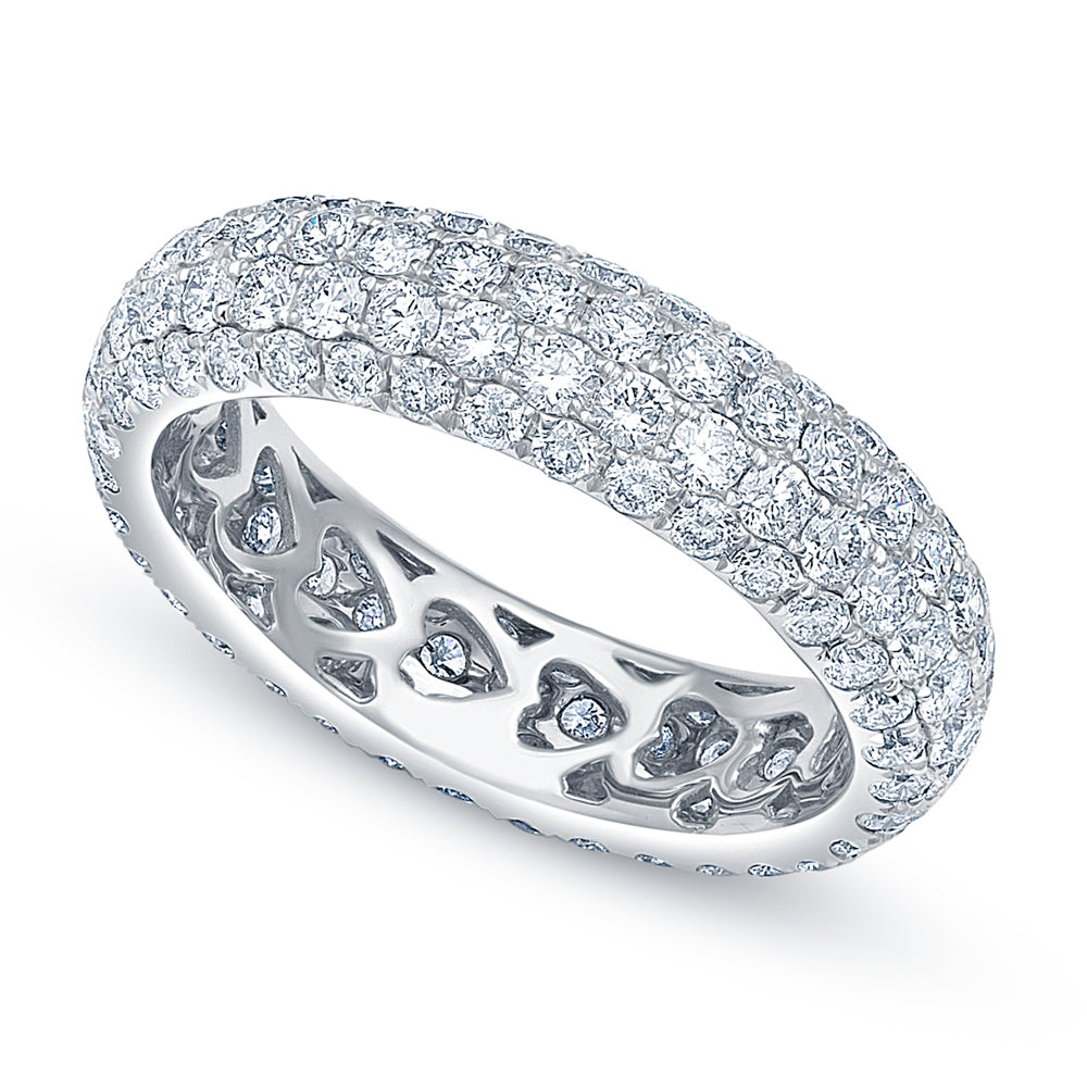 Elyse Pave Diamond Eternity Ring - Rings