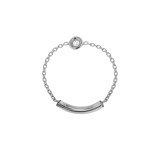 Diamond Chain Ring -