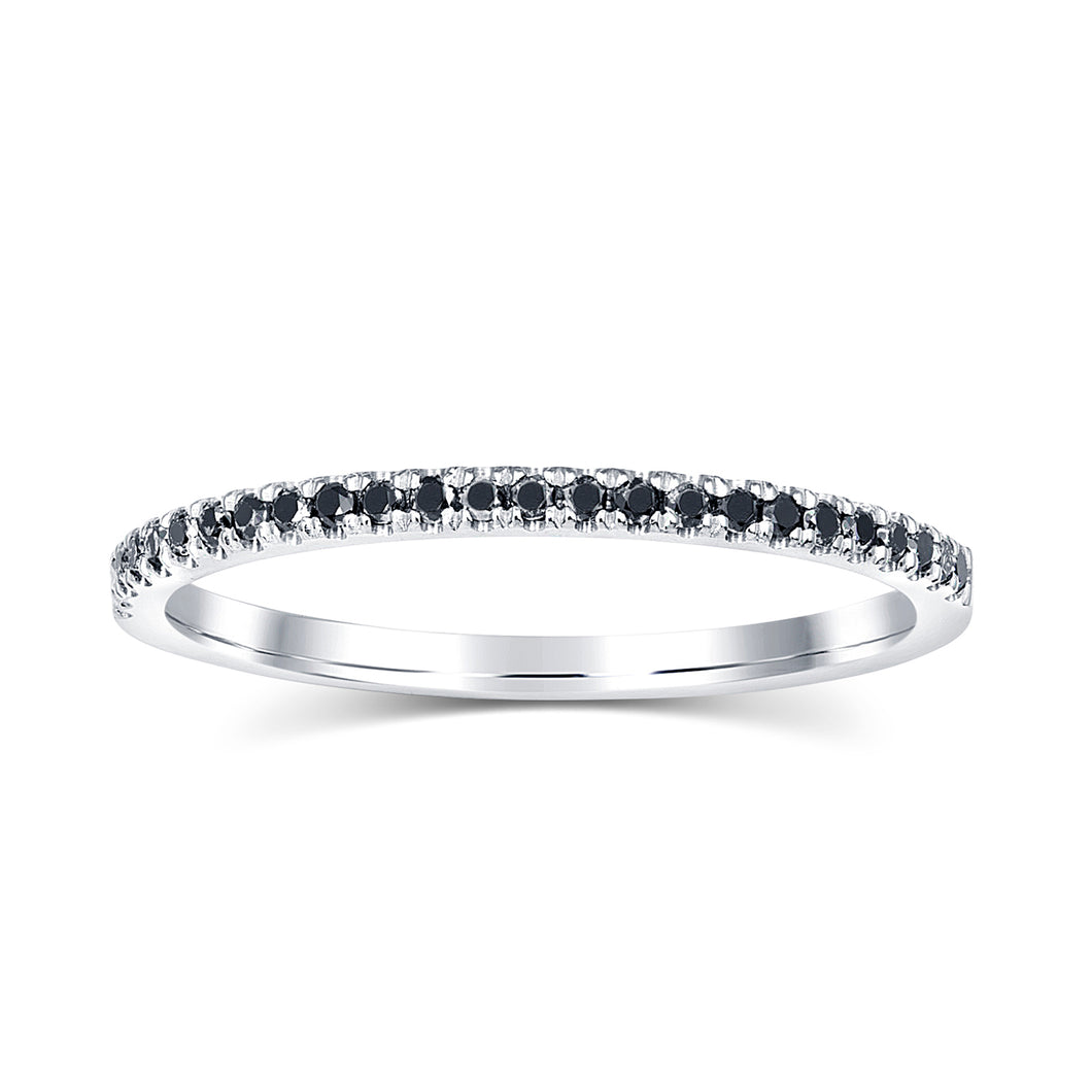Valentina Black Diamond Band - Rings