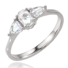 Rose Cut Diamond Ring - Engagement Rings