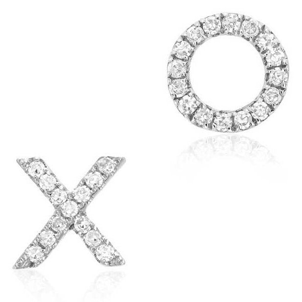 XO Stud Earrings - Earrings