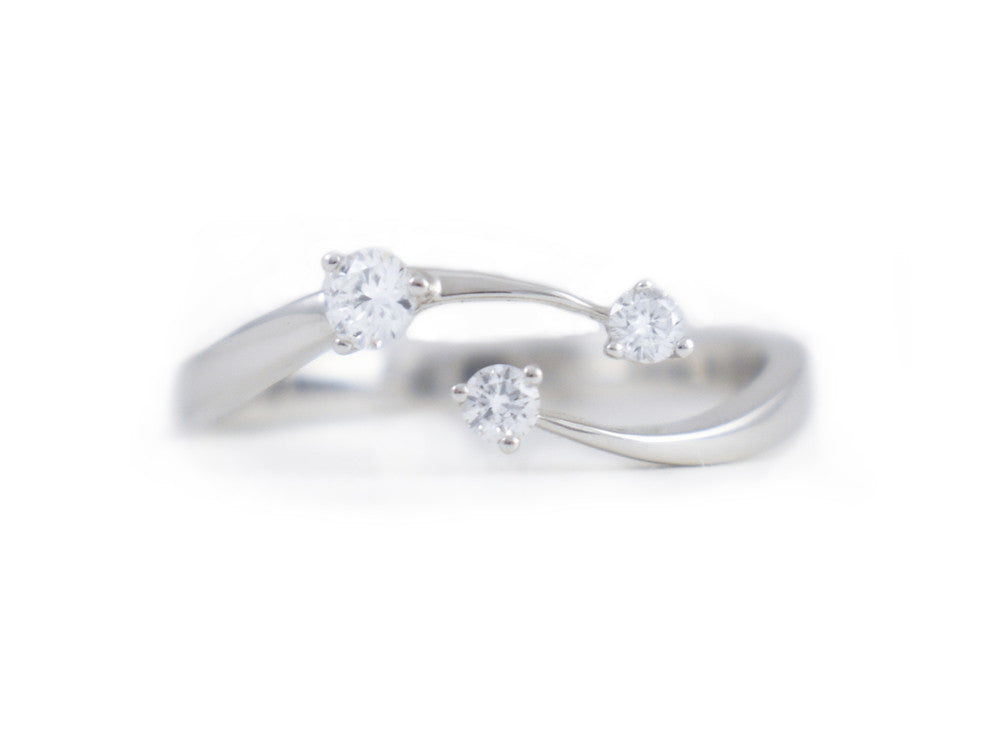 Floating Diamond Ring - Rings