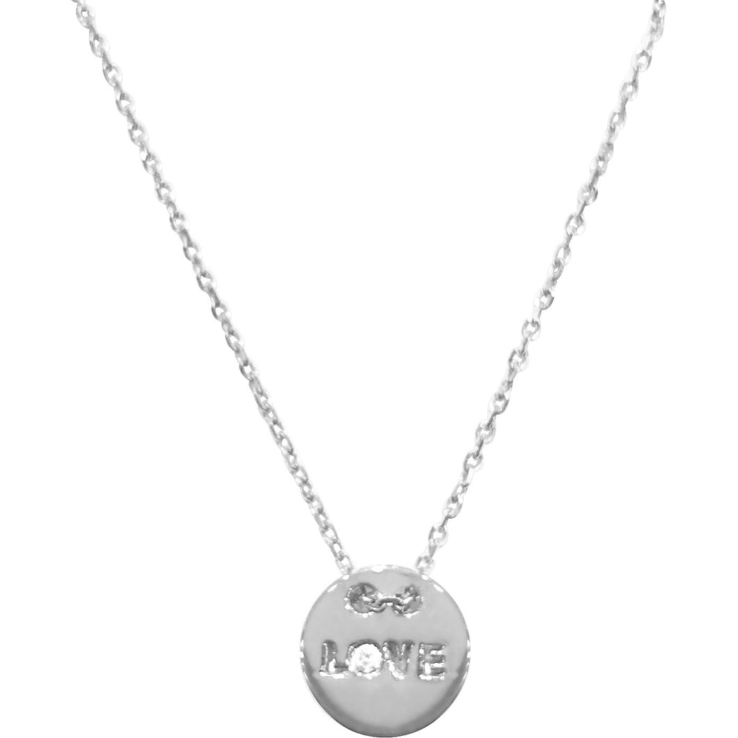 Token of Love Diamond Necklace - Necklace