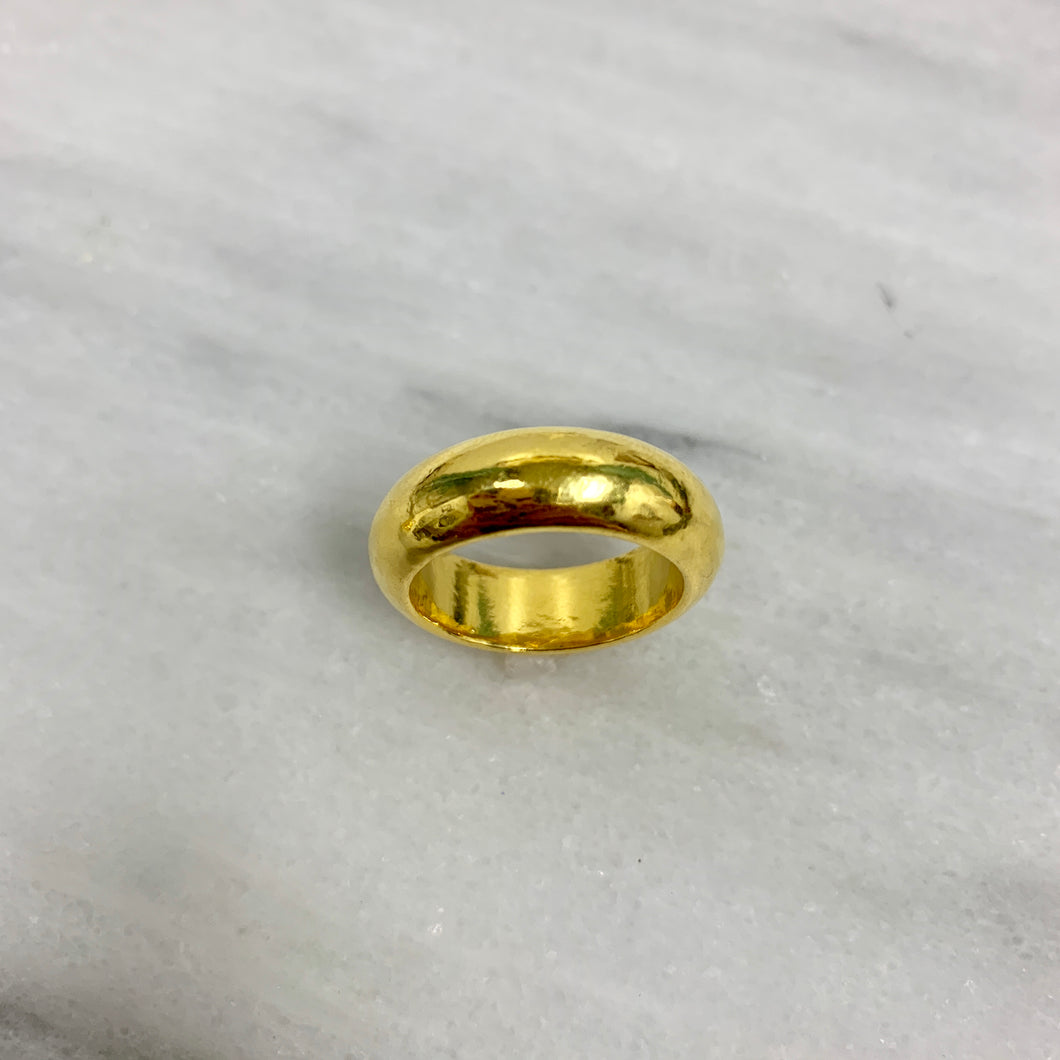 24k Gold Ring - Rings