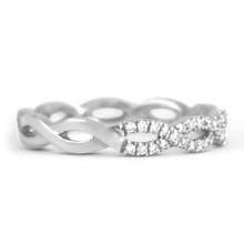 Diamond Infinity Ring - Rings