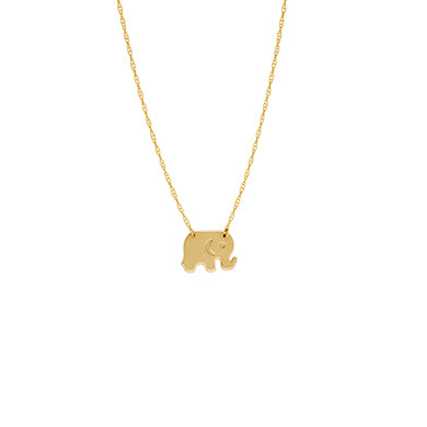 Elephant Necklace - Necklace