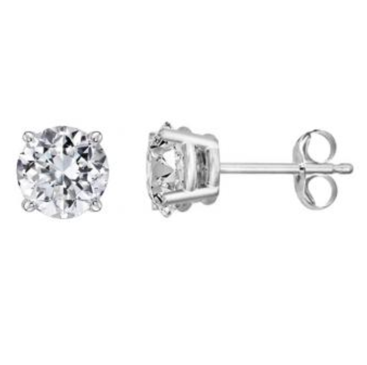 Lab Grown Diamond Stud Earrings - Earrings
