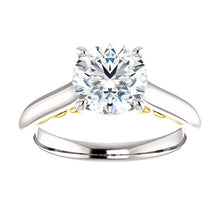 1.5CT Moissanite Solitaire Ring - Rings