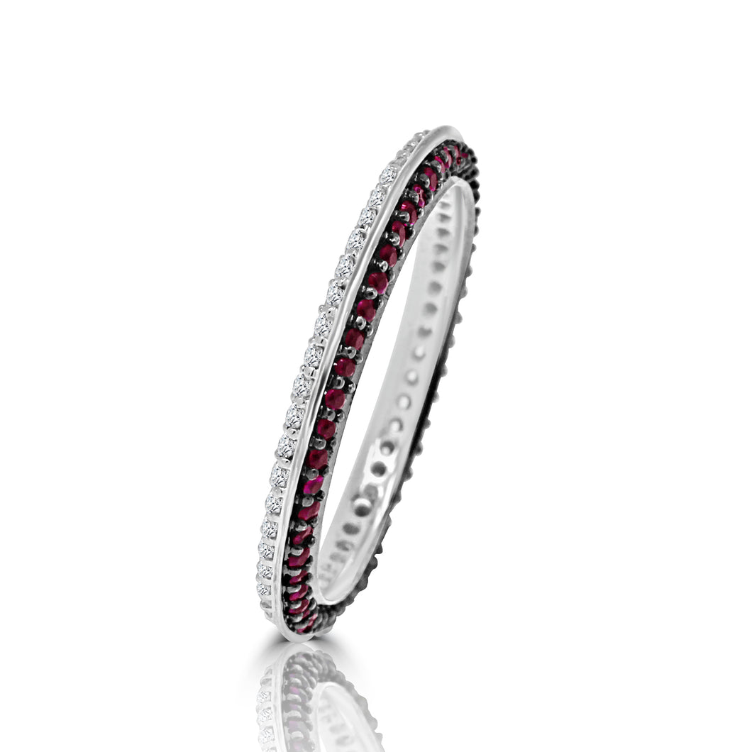 Splash of Color Eternity Ring - Rings