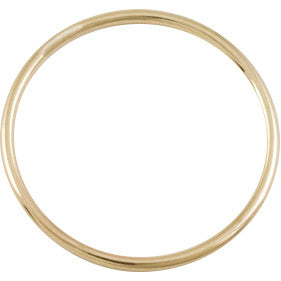 Thin Yellow Gold Ring - Rings