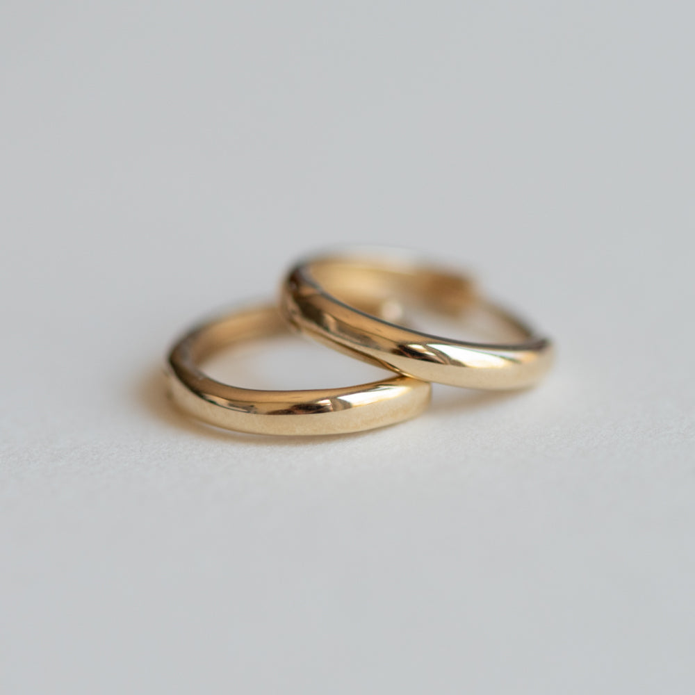 Mini Gold Hoop Earrings - Earrings