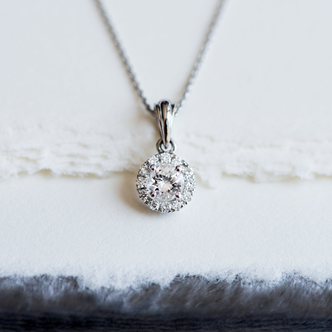 Aurora Halo Necklace - Necklace