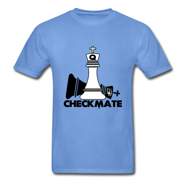 Checkmate Heavyweight Tee - carolina blue