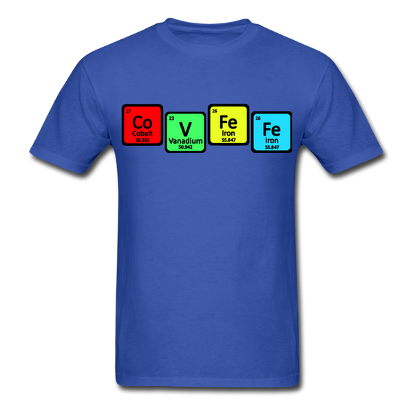 COVFEFE Unisex Tee - royal blue