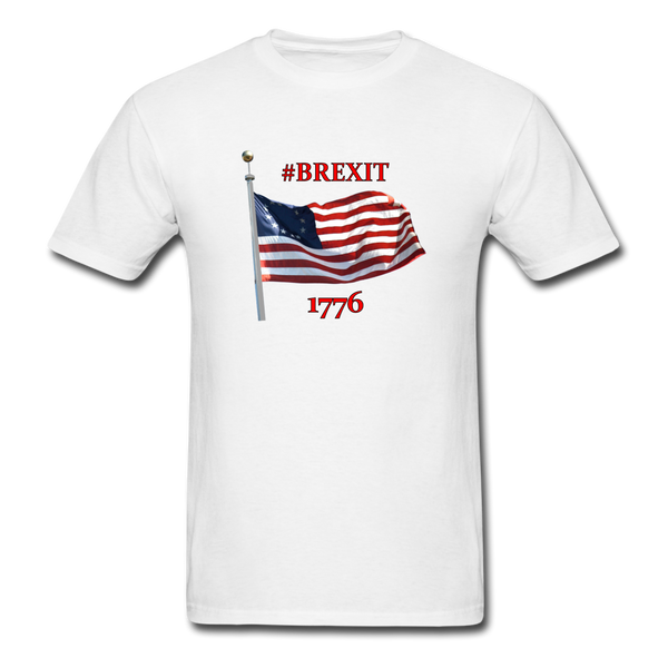 BREXIT 1776 Cotton Tee - white
