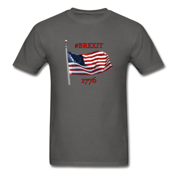 BREXIT 1776 Cotton Tee - charcoal