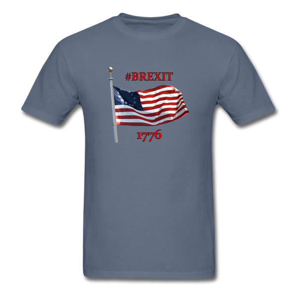 BREXIT 1776 Cotton Tee - denim