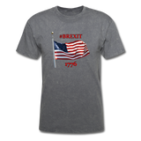 BREXIT 1776 Cotton Tee - mineral charcoal gray