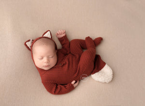Newborn OR sitter Fox outfits