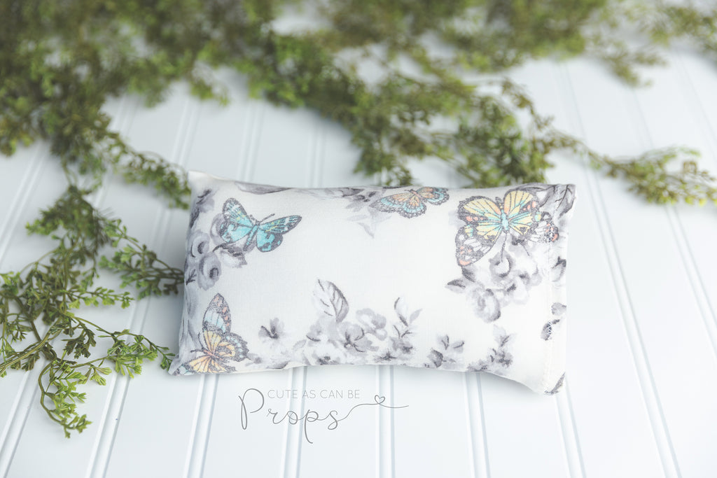 butterfly newborn pillowcase
