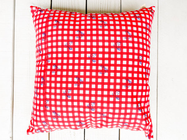 Luma Vintage Organic Canvas Pillow Cover-Petaluma Chicken