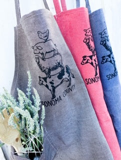 Sonoma County Animal Stack Apron by Luma Vintage
