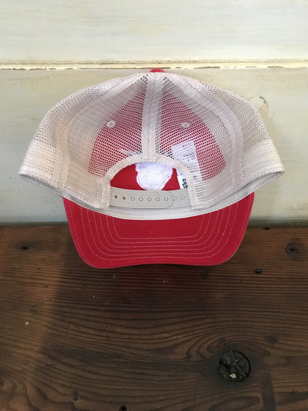 Chicken Trucker Hat, Red