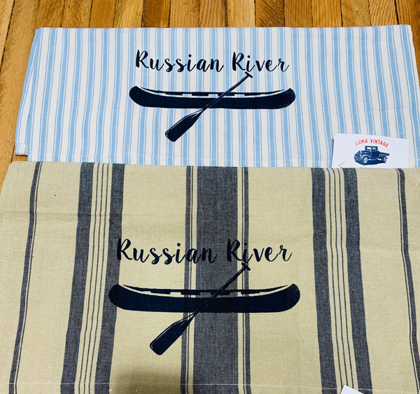 Luma Vintage Russian River  Tea Towel