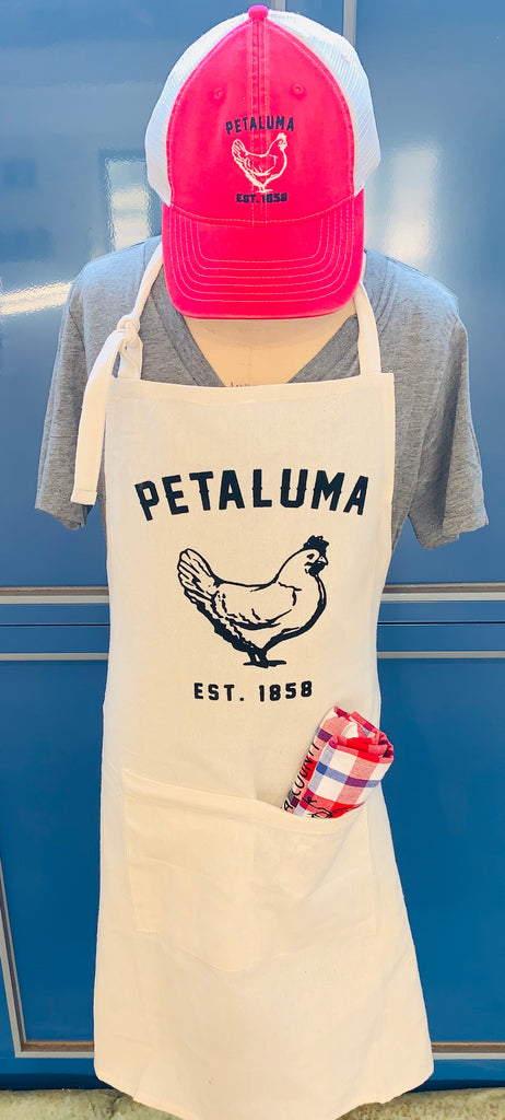 Petaluma Chicken Apron by Luma Vintage-Natural