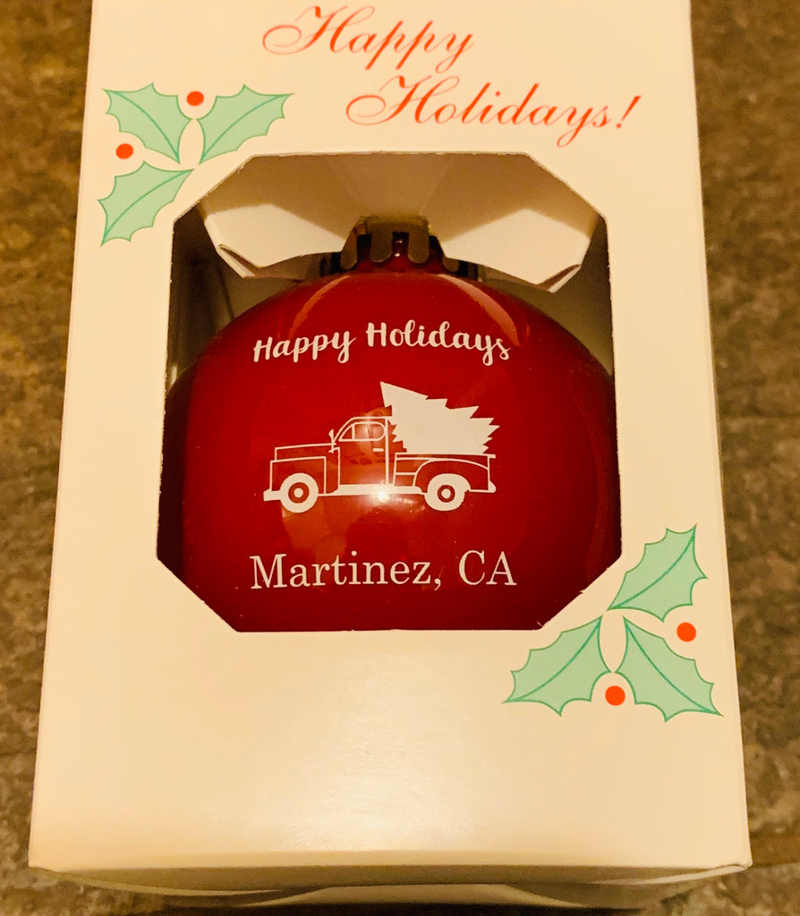 Martinez Holiday Ornament