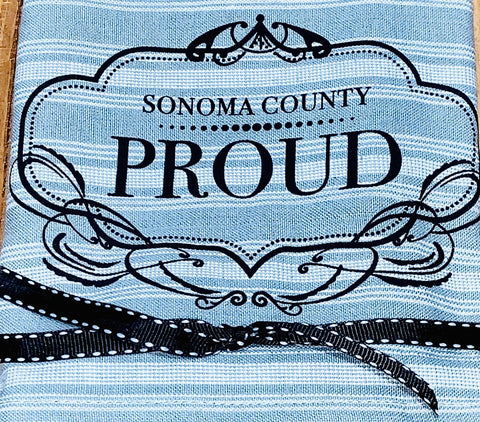 Luma Vintage Sonoma County Proud Tea Towel