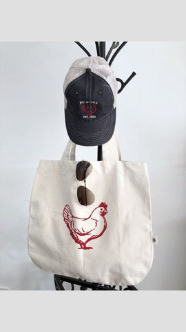 Luma Vintage Chicken Tote Bag