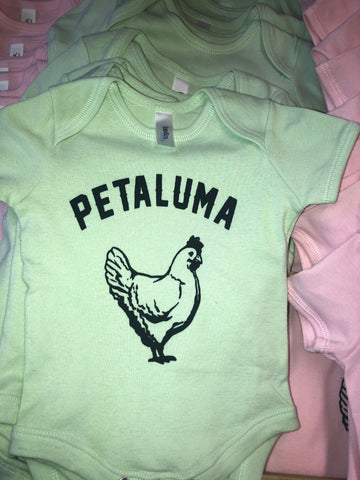 Luma Vintage Chicken Onesie-Mint