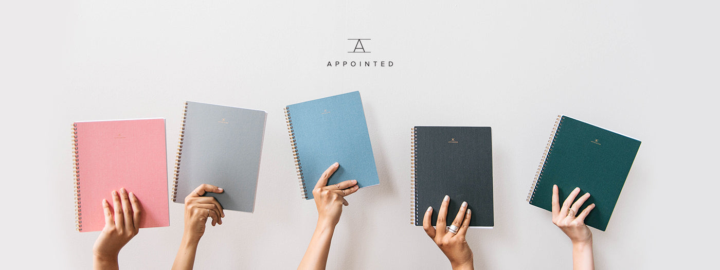 Appointed range of notebooks