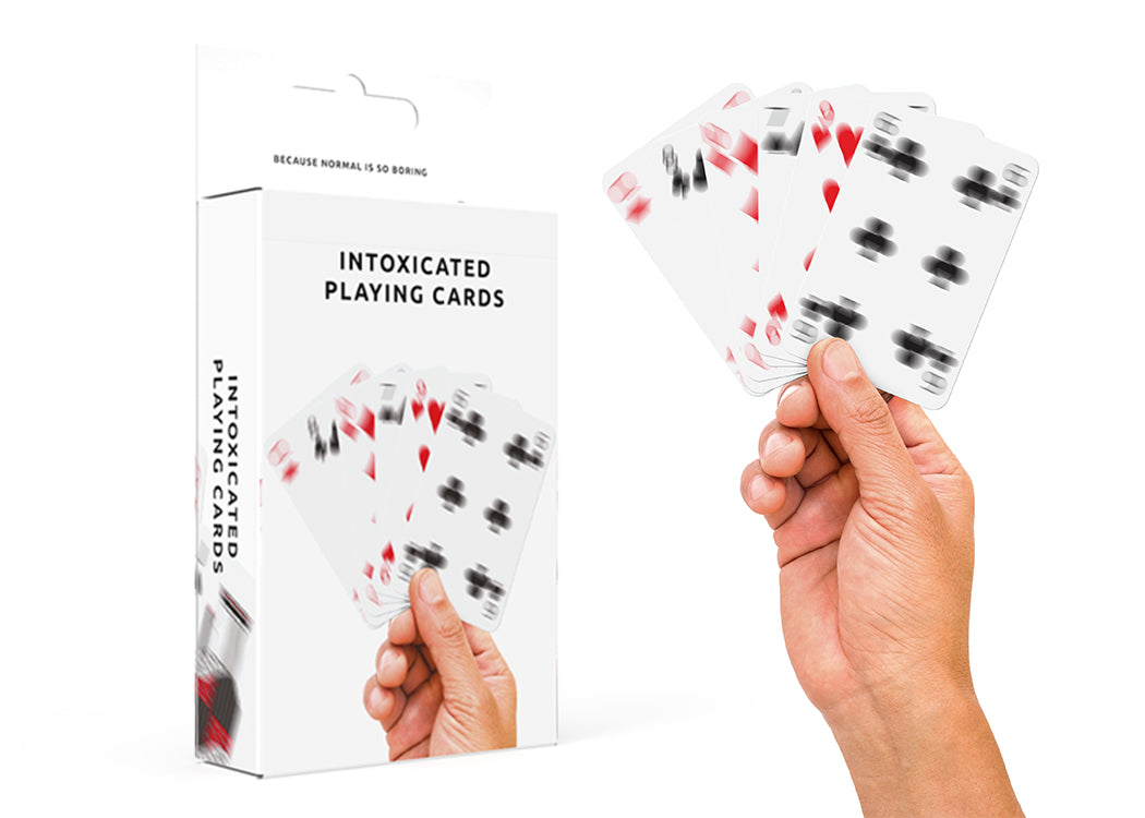 Pikkii Playing Cards with hand holding a deck