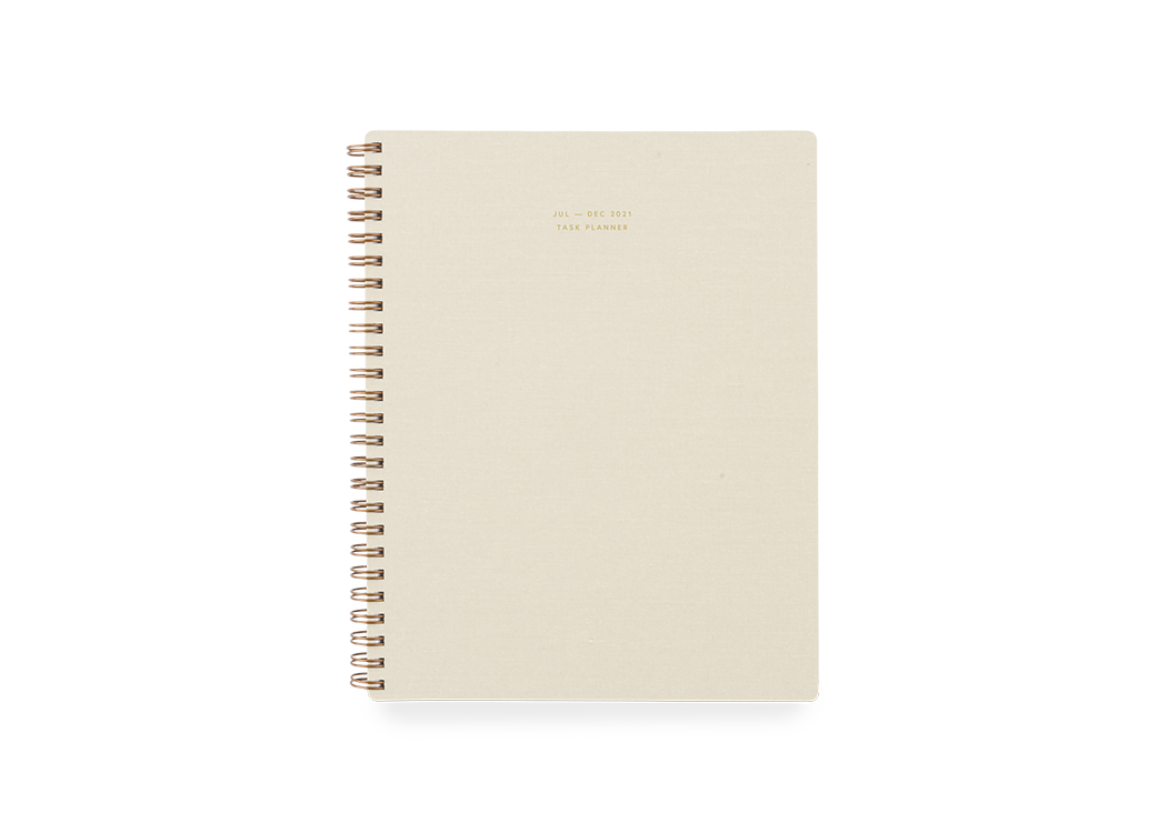 APPOINTED 6-MONTH TASK PLANNER JULY - DEC 2021 (RRP: £25.50)