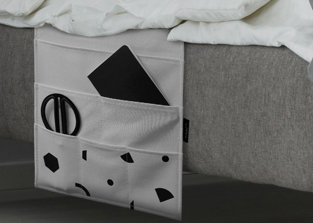 SHAPES BED POCKET ORGANISER (RRP: £15.00)