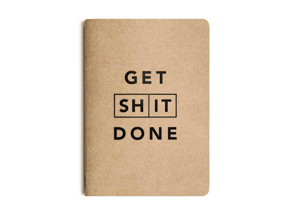 GET SHIT DONE TO-DO-LIST NOTEBOOK (CLASSIC) (RRP: £4.50)