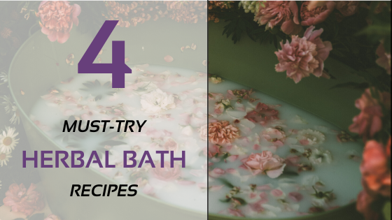 4 Must-Try Herbal Bath Recipes