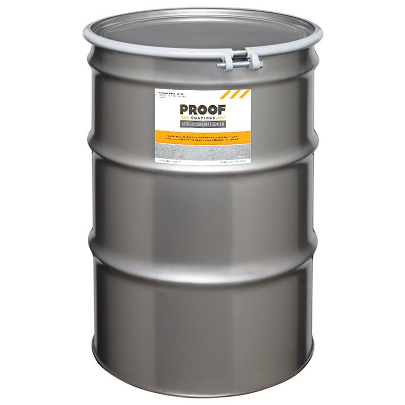 Acrylic Concrete Sealer - 55 GAL Ready to Use