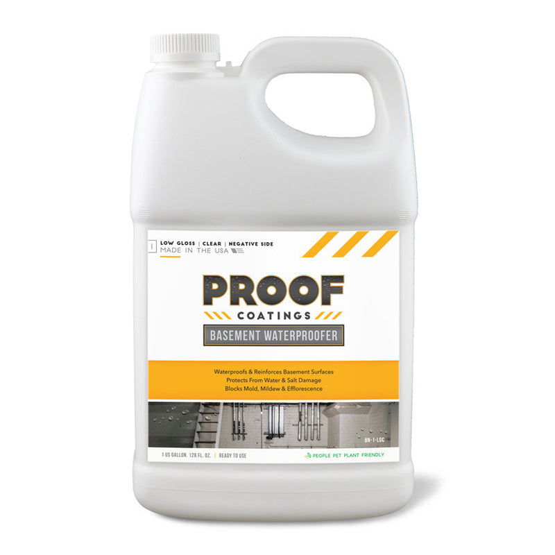 Basement Waterproofer (Negative Side): Low Gloss - 1 GAL Ready to Use