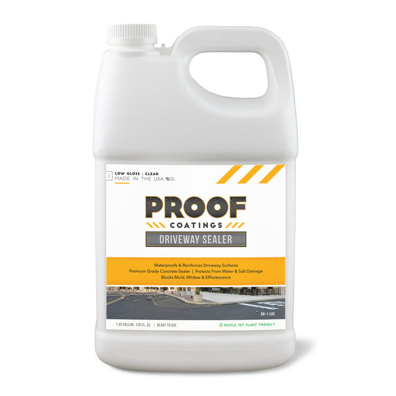 Driveway Sealer: Low/High Gloss - 1 GAL Ready to Use