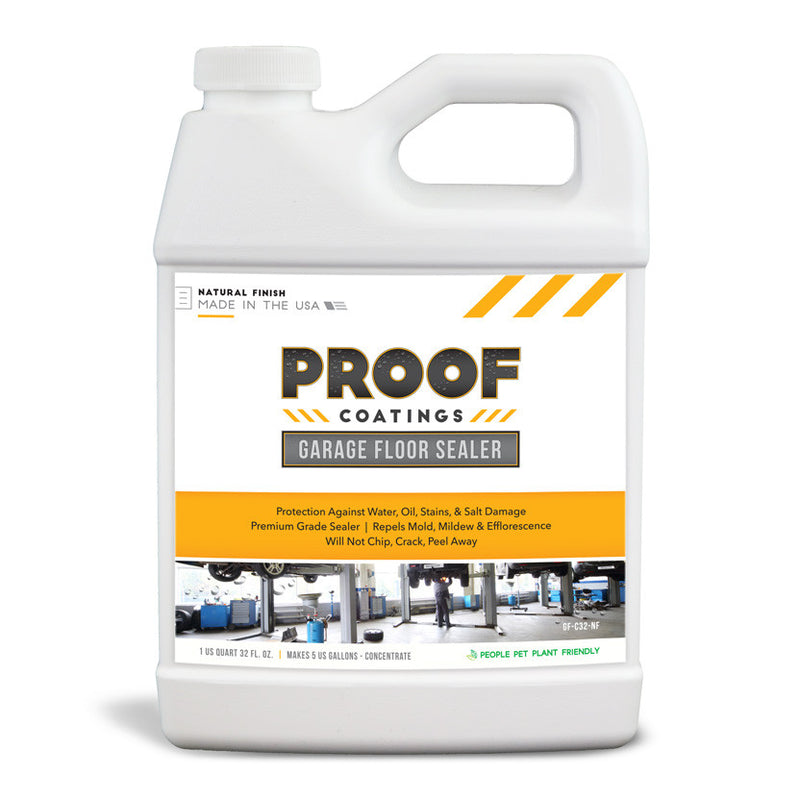 Garage Floor Sealer - 1 QRT Concentrate