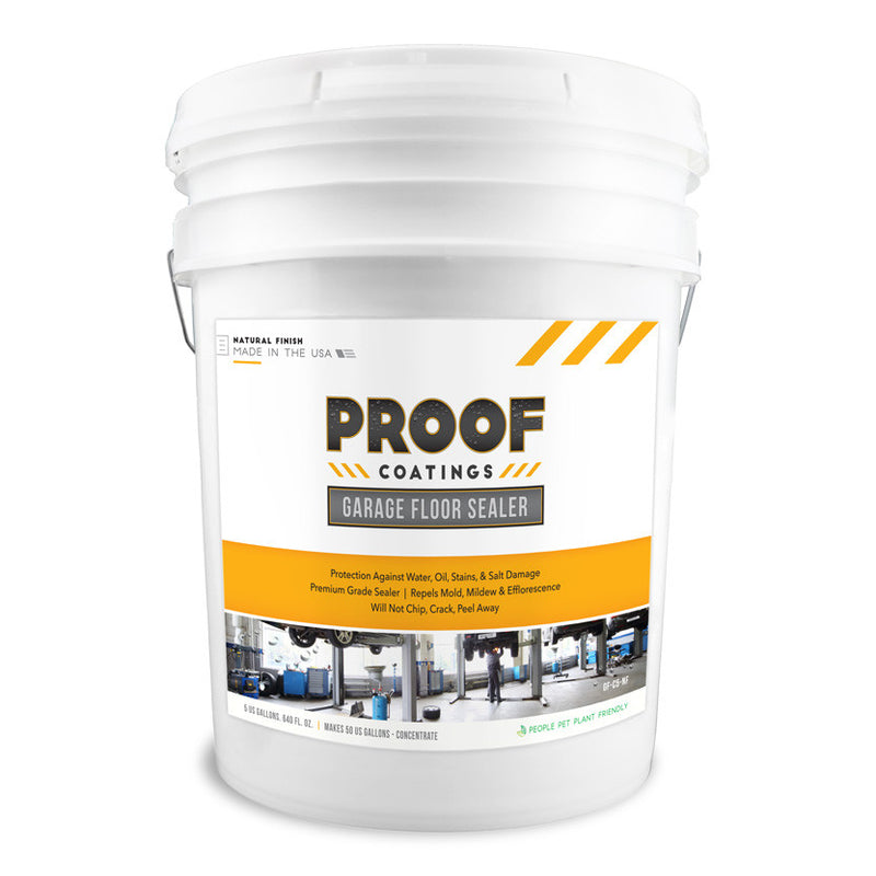 Garage Floor Sealer - 5 GAL Concentrate