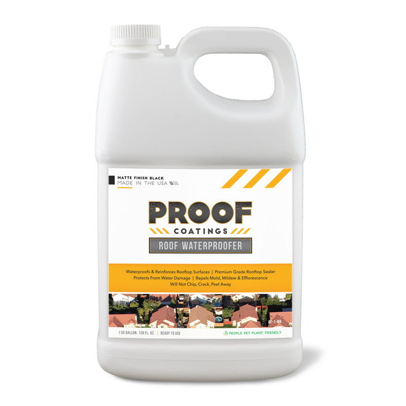 Roof Waterproofer: Matte Finish - 1 GAL Ready to Use